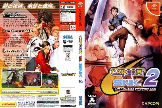 Capcom Vs. Snk 2 - Dreamcast - Patch - Selfboot