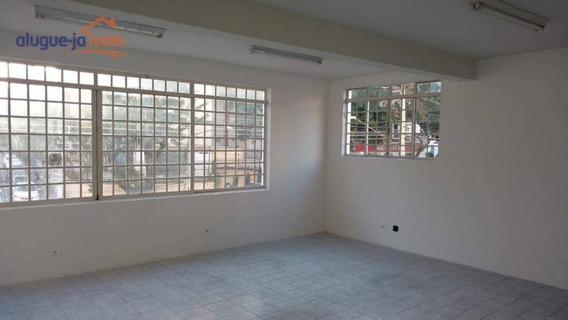 Sala Para Alugar, 180 M² Por R$ 5.000/mês - Jardim São Dimas - São José Dos Campos/sp - Sa0644