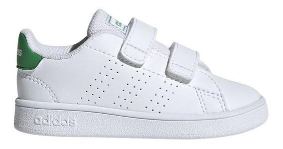 Zapatilla adidas Advantage I Blanco/verde (van Del 19 Al 27)