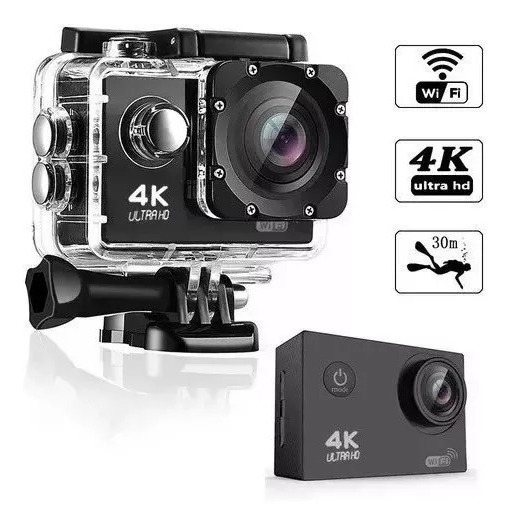 Action Cam Go Plus - 4k, Wi-fi, A Prova D
