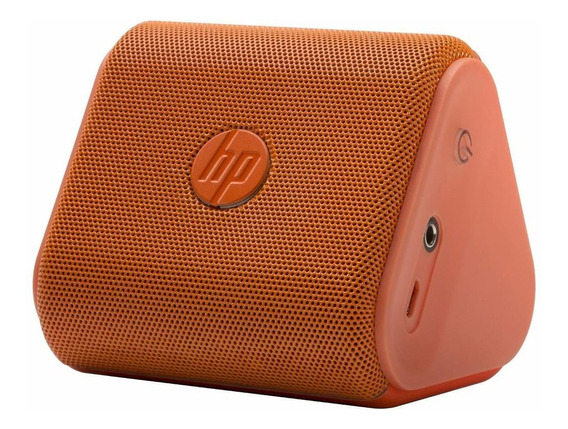 Caixa De Som Bluetooth Hp Roar Mini * G1k48aa * Laranja *
