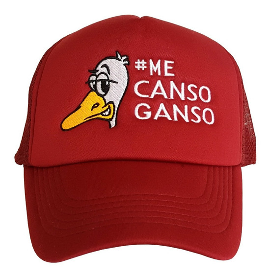 Gorra Trucker Me Canso Ganso, Bordada, Amlo, 4t