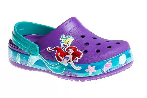 Crocs Nena Princesa Ariel Original