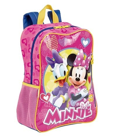 Mochila Infantil Escolar Minnie Margarida Disney 64986 + Nfe
