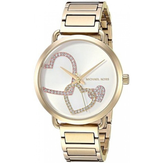 Relógio Michael Kors Gold Portia Mk3824 Feminino