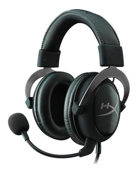 Fone de ouvido gamer HyperX Cloud II gun metal