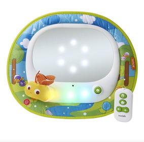 Espelho Retrovisor Bebê Com Controle Remoto