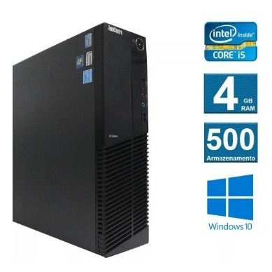 Cpu Lenovo Thinkcenter M92 I5 3º 4 Gb Ram Hd 500 Gb