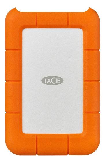 Disco rígido externo LaCie Rugged STFR5000800 5TB laranja