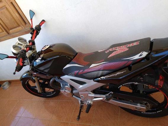 Honda Cbx 250 Preta