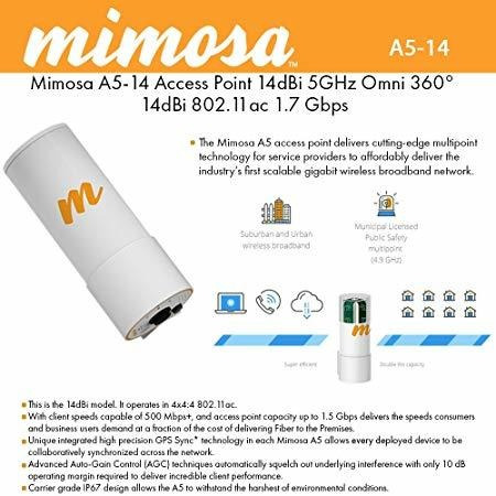 Mimosa A5-14 Multipoint Access Point ®
