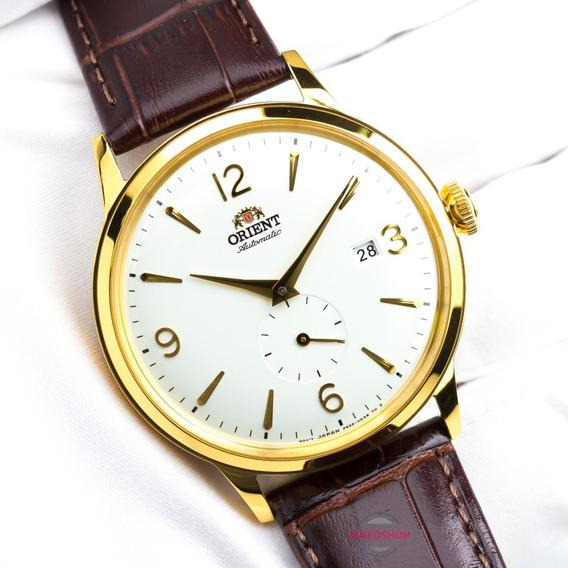 Relógio Orient Bambino Automático Dourado Ra-ap0004s10b