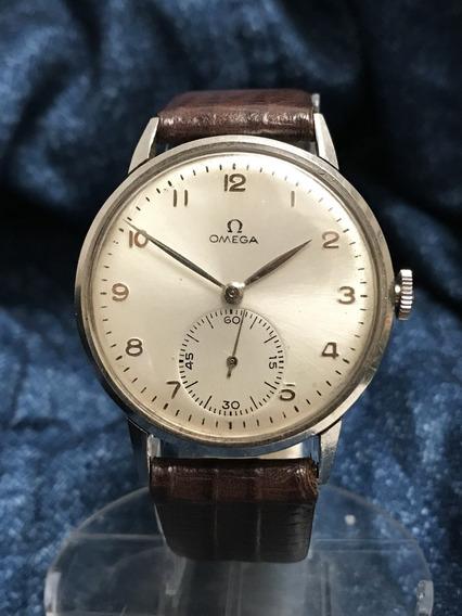 Relógio Omega Grandão 37mm Sem Contar A Coroa, Impecável, Calibre 30t2 - 13 Anos No Mercado Livre