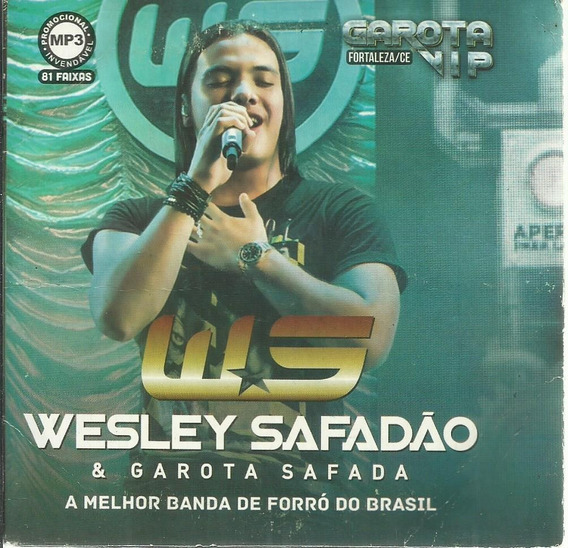 Cd Wesley Safadão E Garota Vip (promo 81 Hits Mp3) + Brinde
