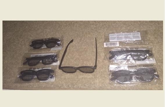 6 Óculos 3d Passivo Tv Philips 46pfl5508g/78 Original