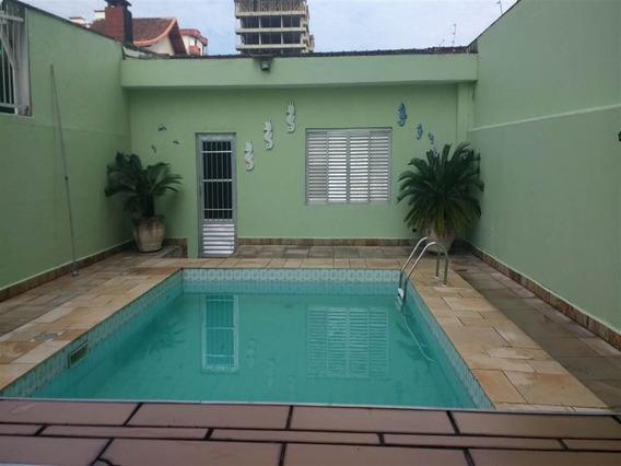 Linda Casa Isolada No Centro Da Vila Caiçara Com Edícula E Piscina - Sp911