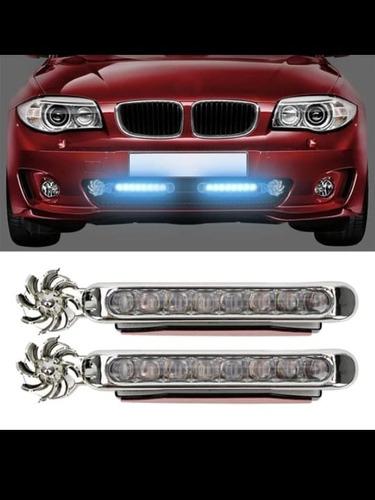 Imagen 1 de 2 de Par De Luces Led Para Carro De Lujo Sin Corriente Eólicos