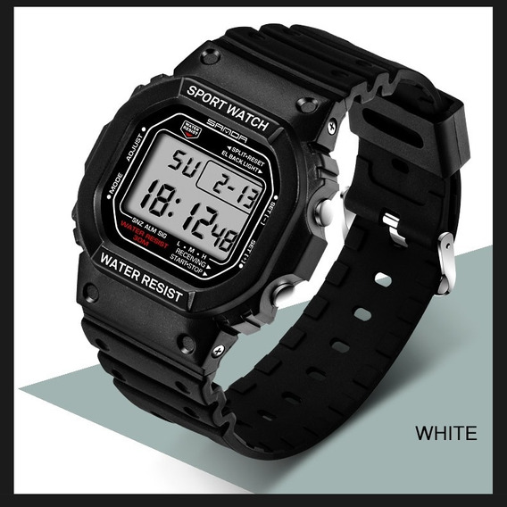 Relógio Masculino Esportivo S-shock Original Digital Barato