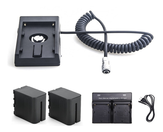 Kit Bateria Blackmagic Pocket 4k