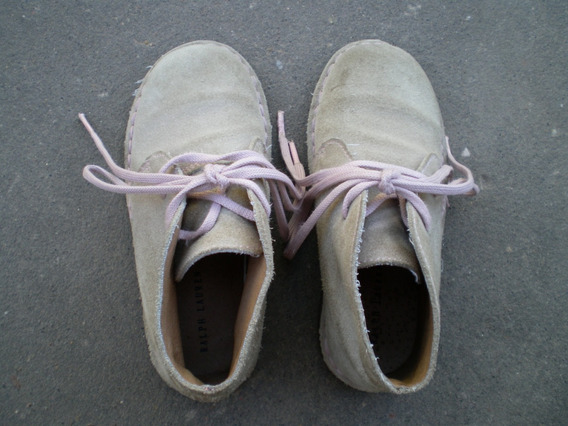 Botas De Gamuza Niñas Ralph Lauren