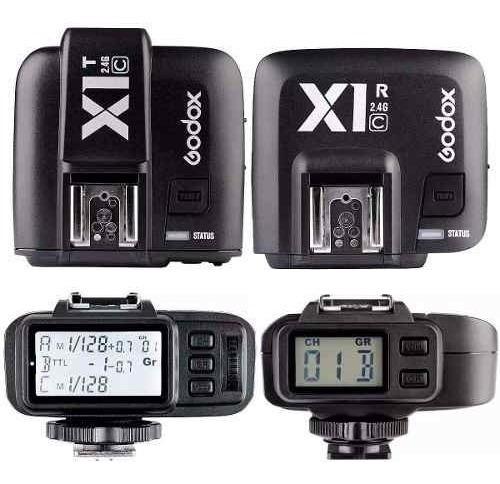 Radio Flash Ttl Godox X1c Para Canon