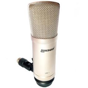 Microfone Condensador Profissional Lexsen Gravação Estudio