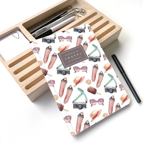 Cuaderno Rayado Travel Mood A5 - Mil Letterpress