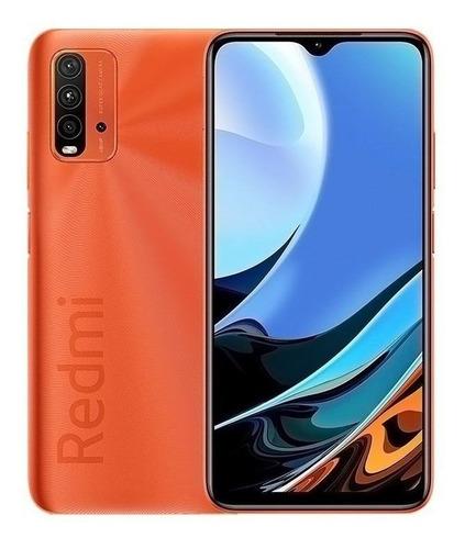Celular Smartphone Xiaomi Redmi 9t 128gb Laranja - Dual Chip