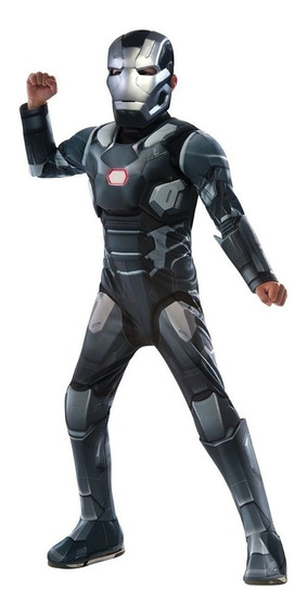 Disfraz De Niño Iron Man Civil War Musculoso Rubie