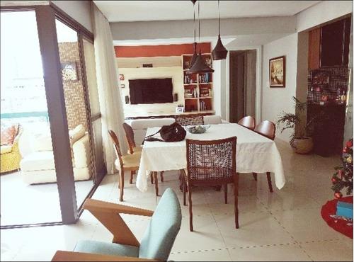 Imagem 1 de 14 de Venda - Apartamento 3/4 No Aquarius - Pituba - Salvador - Ba
