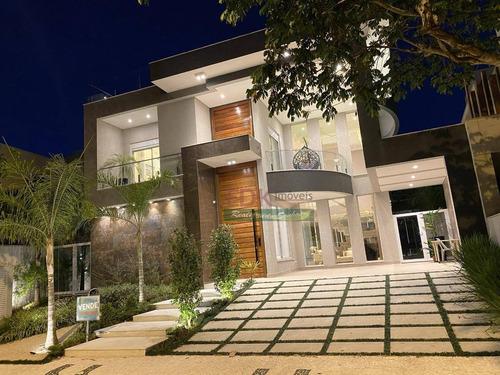 Imagem 1 de 10 de Casa Com 8 Dormitórios À Venda Por R$ 9.900.000 - Riviera De São Lourenço - Bertioga/sp - Ca5644