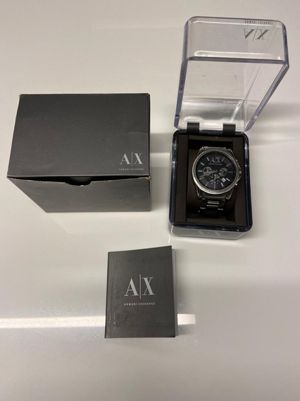Relógio Masculino Armani Exchange Ax2084 Original Usado