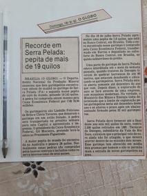 Recorte De Jornal Antigo Matéria Pepita De Ouro Serra Pelada