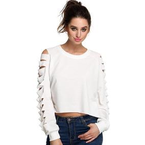 cb12e410e3 Blusas Blancas Para Damas Elegantes - Ropa y Accesorios en Mercado ...