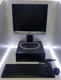 Kit Pdv Cpu Slim Lenovo+ Monitor + Leitor + Brinde!