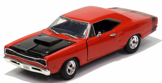 Miniatura Dodge Coronet 1969 Escala 1:24 Metal