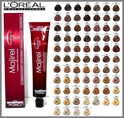 L Oréal Tintura Majirel 50ml Nº7 1 Rubio Ceniza Mercado Libre