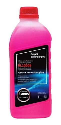Aditivo De Radiador Rl10008 Delphi Concentrado Rosa Orgânico