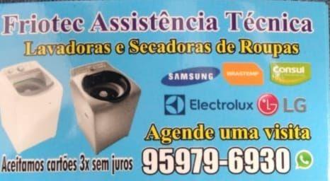 Friotec Assistência Técnica De Lavadoras E Secadoras Roupas