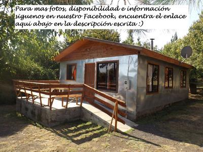 Cabaña En Pucura. Lican Ray Coñaripe 6 Personas
