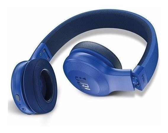 Fone De Ouvido Jbl E45 Bt Bluetooth Microfone Novo Open Box