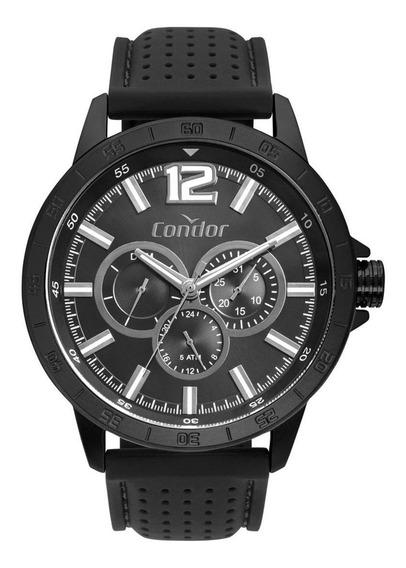 Relógio Condor Masculino Pulseira De Couro Co6p29je/4p?