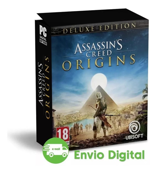 Assassins Creed Origins Português Pc +dlc Promoçao