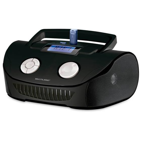 Rádio Boombox Mp3 Player Rádio Fm Pendrive Garantia 1 Ano