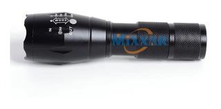 Lanterna Tática Led T6 Police Potente 3 Pilhas Recarregável