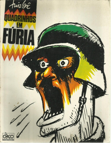 Livro Quadrinhos Em Fúria