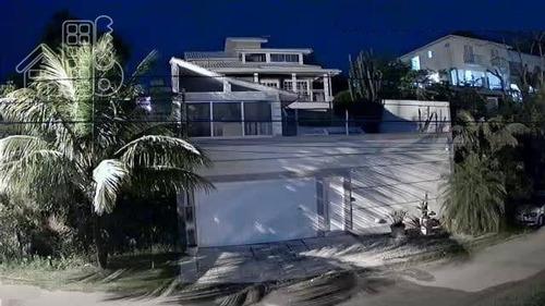 Casa Com 3 Dormitórios À Venda, 360 M² Por R$ 2.200.000,00 - Camboinhas - Niterói/rj - Ca1285