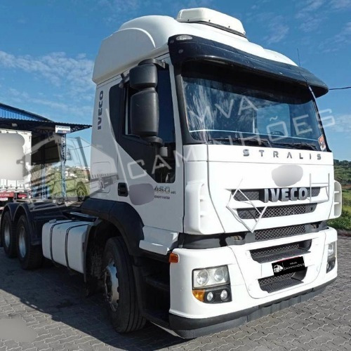 Imagem 1 de 10 de Caminhão Iveco Strallis 460  Teto Alto - 6x2 T