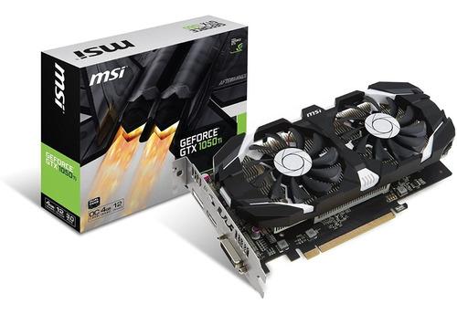 Imagen 1 de 1 de Placa De Video Nvidia Msi Geforce Gtx 1050 Ti Oc Edition 4gb