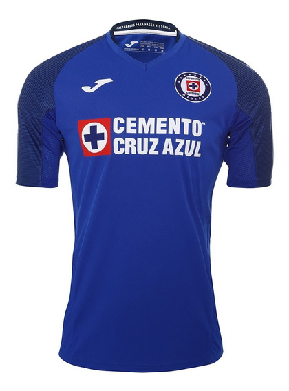 Jersey Joma Cruz Azul Local Original 2019-2020 Royal
